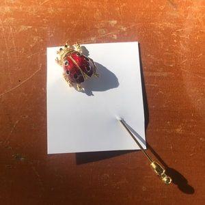 Vintage Ladybug pin  🐞